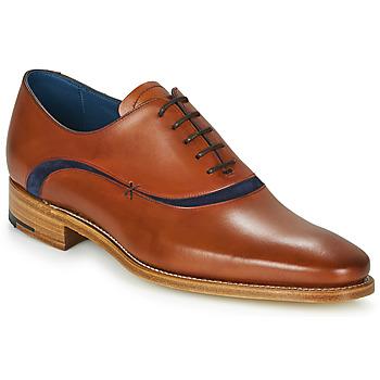 Čevlji  Moški Čevlji Richelieu Barker EMERSON Kostanjeva / Modra