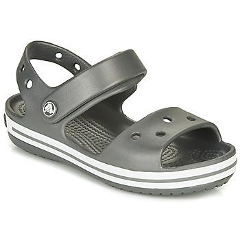 Čevlji  Otroci Športni sandali Crocs CROCBAND SANDAL KIDS Črna / White