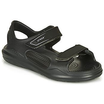 Čevlji  Otroci Sandali & Odprti čevlji Crocs SWIFTWATER EXPEDITION SANDAL Črna
