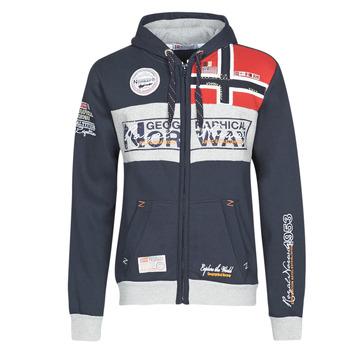 Oblačila Moški Puloverji Geographical Norway FLYER Modra