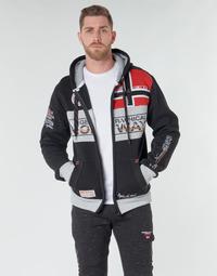 Oblačila Moški Puloverji Geographical Norway FLYER Črna
