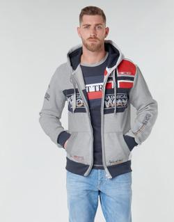 Oblačila Moški Puloverji Geographical Norway FLYER Siva / Sepraný