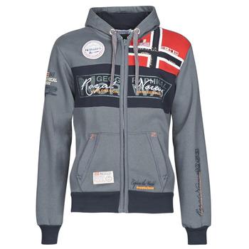 Oblačila Moški Puloverji Geographical Norway FLYER Siva