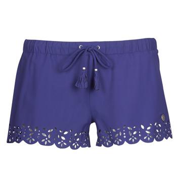 Oblačila Ženske Kratke hlače & Bermuda Banana Moon MEOW Modra