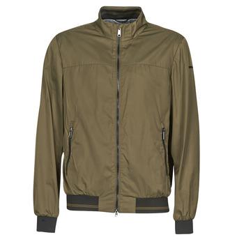 Oblačila Moški Jakne Geox TEVERE BOMBER Zelena / Bronze