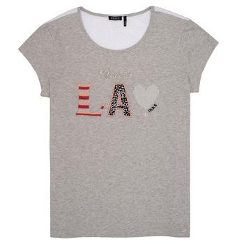 Oblačila Deklice Majice s kratkimi rokavi Ikks LILOUSH Siva