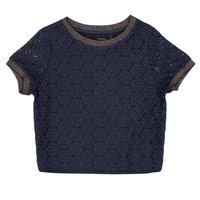Oblačila Deklice Topi & Bluze Ikks CLOTHILDE Modra