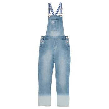 Oblačila Deklice Kombinezoni Ikks PERRINE Modra