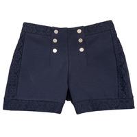 Oblačila Deklice Kratke hlače & Bermuda Ikks SOLISSO Modra