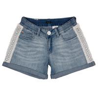 Oblačila Deklice Kratke hlače & Bermuda Ikks ISAHA Modra