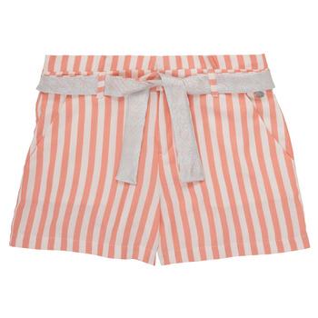 Oblačila Deklice Kratke hlače & Bermuda Ikks BADISSIO Oranžna