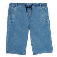 Oblačila Dečki Kratke hlače & Bermuda Ikks PAGALI Modra