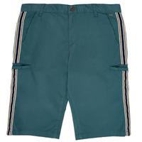 Oblačila Dečki Kratke hlače & Bermuda Ikks MANUEL Modra / Zelena