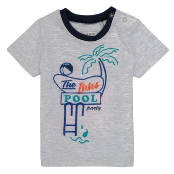 Oblačila Dečki Majice s kratkimi rokavi Ikks LISIANA Siva