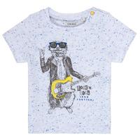 Oblačila Dečki Majice s kratkimi rokavi Ikks MARIO Bela