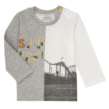Oblačila Dečki Majice z dolgimi rokavi Ikks MAELINO Siva