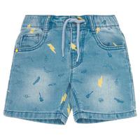 Oblačila Dečki Kratke hlače & Bermuda Ikks PONERMO Modra