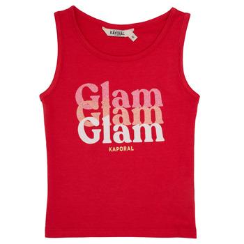 Oblačila Deklice Majice brez rokavov Kaporal JUIN Rdeča