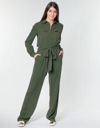 Oblačila Ženske Kombinezoni MICHAEL Michael Kors ROLL SLV SAFARI JMPST Kaki