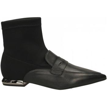 Čevlji  Ženske Gležnjarji Tosca Blu MARY c99-nero
