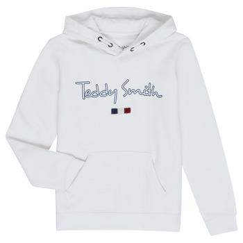 Oblačila Dečki Puloverji Teddy Smith SEVEN Bela