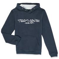 Oblačila Dečki Puloverji Teddy Smith SICLASS Modra