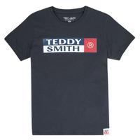 Oblačila Dečki Majice s kratkimi rokavi Teddy Smith TOZO Modra