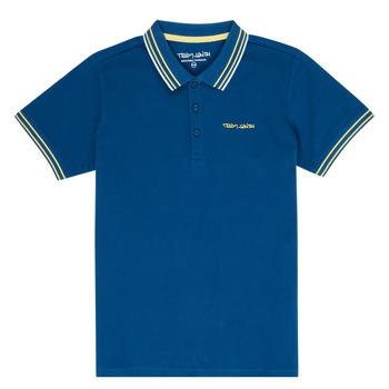 Oblačila Dečki Polo majice kratki rokavi Teddy Smith PASY Modra