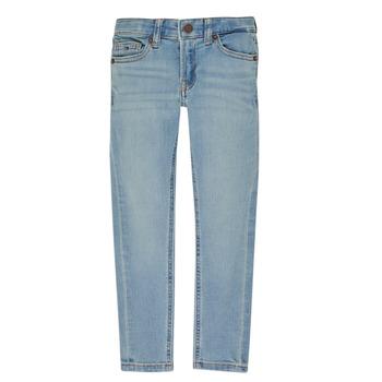 Oblačila Dečki Kavbojke slim Tommy Hilfiger SIMON Modra