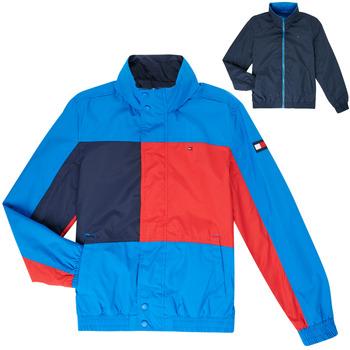 Oblačila Dečki Jakne Tommy Hilfiger  Modra