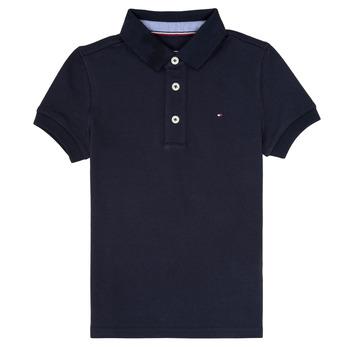 Oblačila Dečki Polo majice kratki rokavi Tommy Hilfiger KB0KB03975 Modra