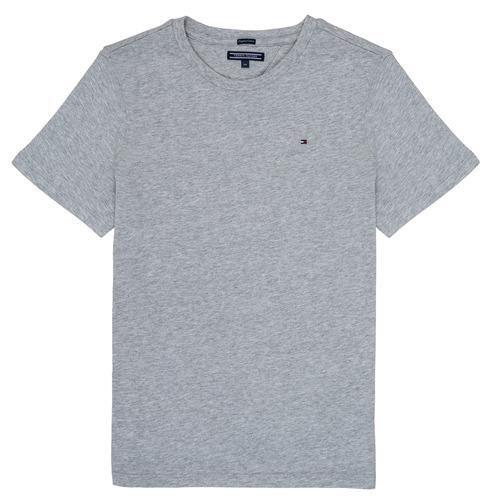 Oblačila Dečki Majice s kratkimi rokavi Tommy Hilfiger  Siva