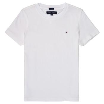 Oblačila Dečki Majice s kratkimi rokavi Tommy Hilfiger KB0KB04140 Bela