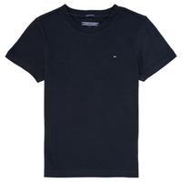 Oblačila Dečki Majice s kratkimi rokavi Tommy Hilfiger KB0KB04140 Modra