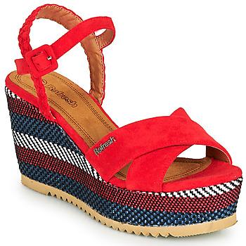 Čevlji  Ženske Sandali & Odprti čevlji Refresh LOCKAL Rdeča
