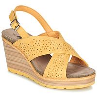 Čevlji  Ženske Sandali & Odprti čevlji Refresh RILO Rumena