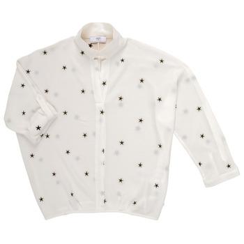 Oblačila Deklice Topi & Bluze Le Temps des Cerises STRELLA Bela