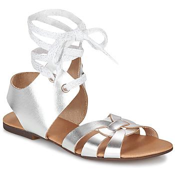 Čevlji  Ženske Sandali & Odprti čevlji Ippon Vintage SAND LINE Srebrna