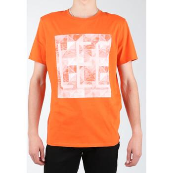 Oblačila Moški Majice & Polo majice Lee Logo Tee L63GAIMO orange