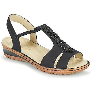 Čevlji  Ženske Sandali & Odprti čevlji Ara HAWAII Črna