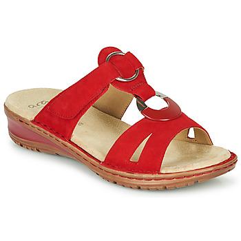 Čevlji  Ženske Sandali & Odprti čevlji Ara HAWAII Rdeča