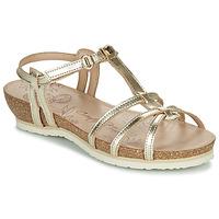Čevlji  Ženske Sandali & Odprti čevlji Panama Jack DORI Pozlačena
