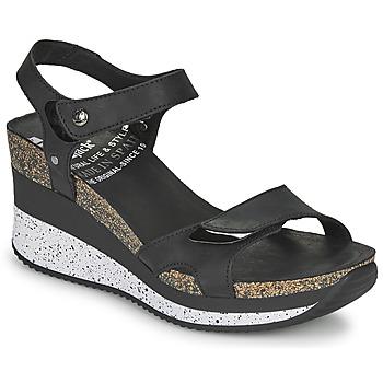 Čevlji  Ženske Sandali & Odprti čevlji Panama Jack NICA Črna
