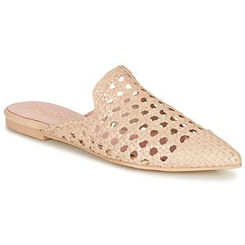 Čevlji  Ženske Natikači Pretty Ballerinas COTON ROSATO Bež