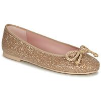 Čevlji  Ženske Balerinke Pretty Ballerinas BELLE SAND Pozlačena
