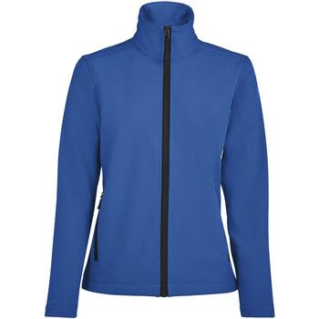 Oblačila Ženske Športne jope in jakne Sols RACE WOMEN SOFTSHELL Azul