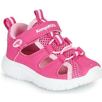 Čevlji  Deklice Sandali & Odprti čevlji Kangaroos KI-ROCK LITE EV Rožnata