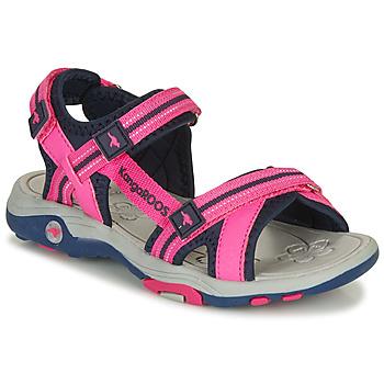 Čevlji  Deklice Sandali & Odprti čevlji Kangaroos K-LENI Rožnata