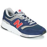 Čevlji  Moški Nizke superge New Balance 997 Modra / Rdeča
