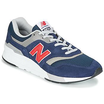 Čevlji  Nizke superge New Balance 997 Modra / Rdeča